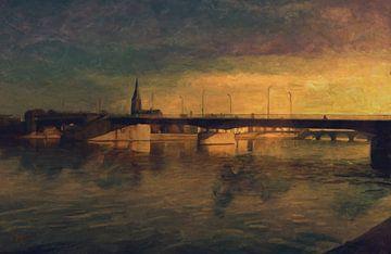 Die Brücken von Maastricht von Nop Briex