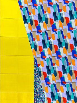 Yellow Detail von Michael Schulz-Dostal