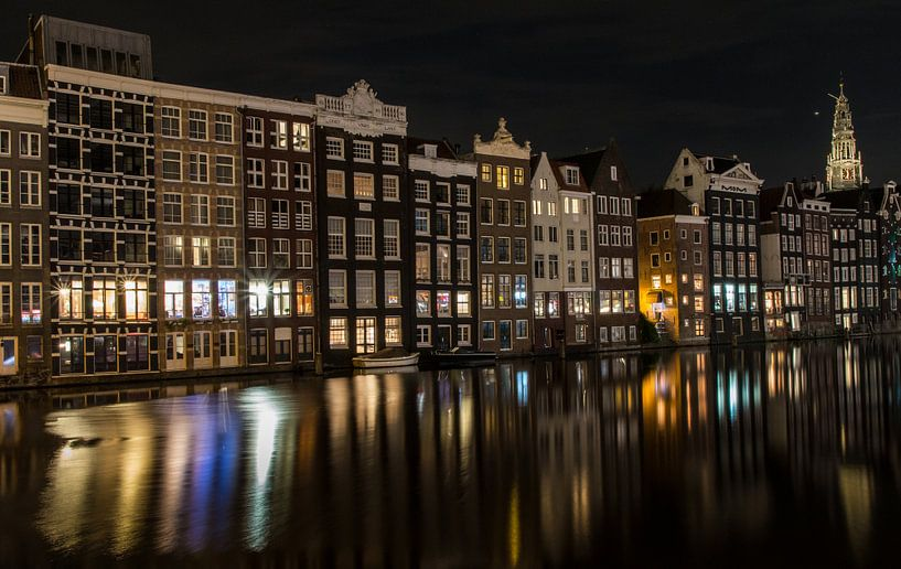Amsterdam, Damrak van Marlous en Stefan P.