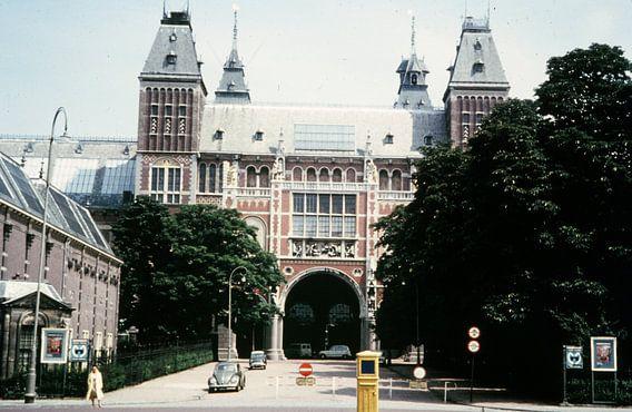 Vintage Amsterdam Rijksmuseum 50s/60s van Jaap Ros