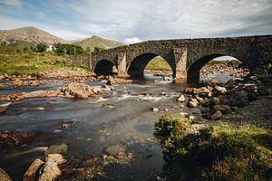 De brug van Sligachan van Katrin Friedl