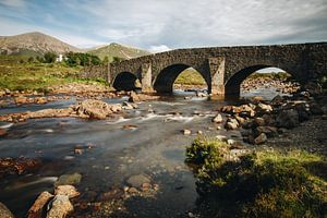 Die Brücke von Sligachan von Katrin Friedl