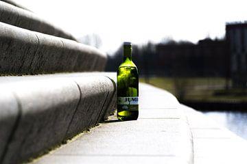 De fles van Rein Vrugt