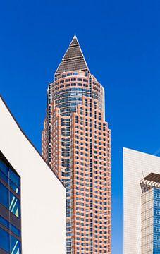 The Messeturm tower at the Europaviertel quarter in Frankfurt sur Werner Dieterich