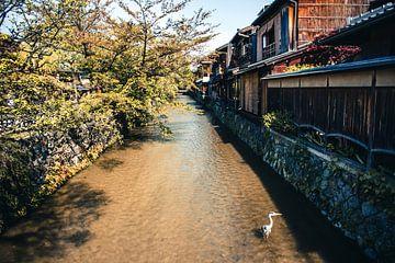 Straatje in Gion, Kyoto van Expeditie Aardbol
