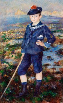 Renoir, Seemannsjunge (Porträt von Robert Nunès) (1883)