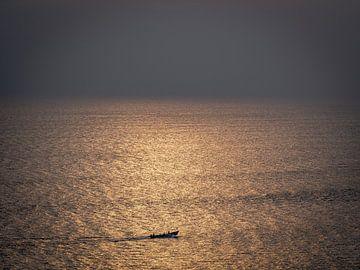 Vanuit Kollam India op weg naar de oneindige oceaan van Rik Pijnenburg
