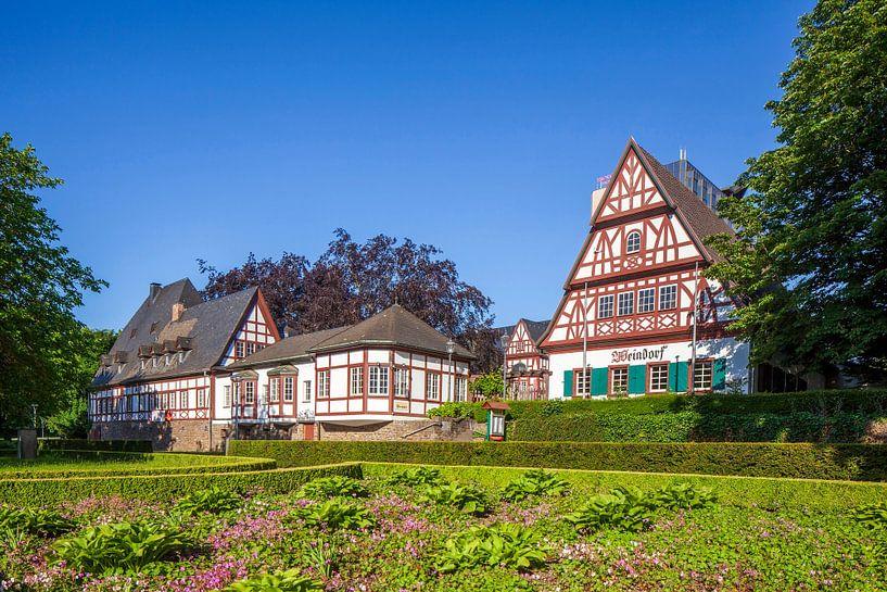 Weindorf, Historisches Fachwerkhaus, Koblenz, Rheinland-Pfalz, Deutschland, Europa von Torsten Krüger