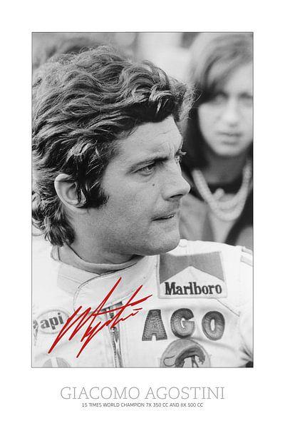Giacomo Agostini 1975 TT Assen sur Harry Hadders
