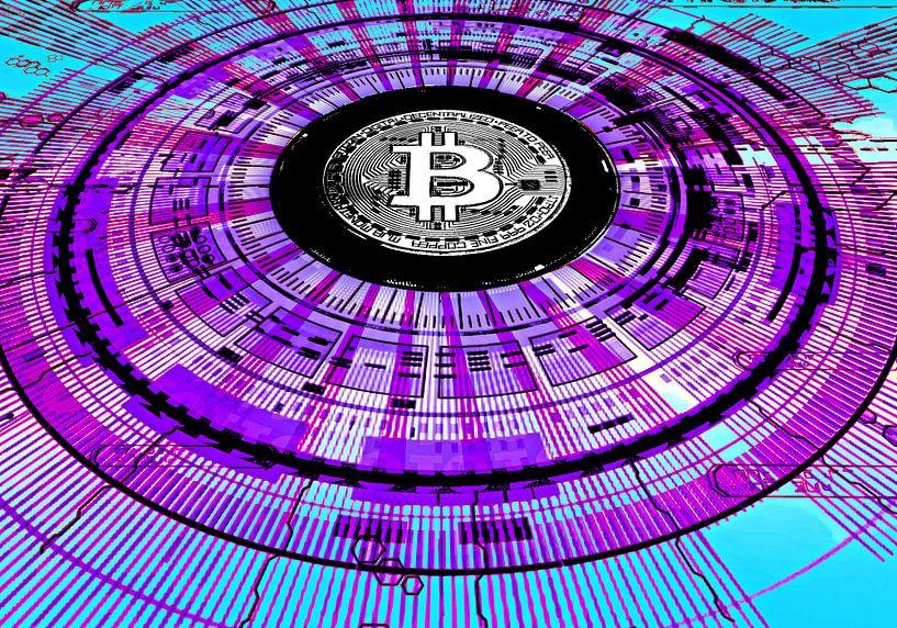 Bitcoin and the Blockchain von PictureWork - Digital artist