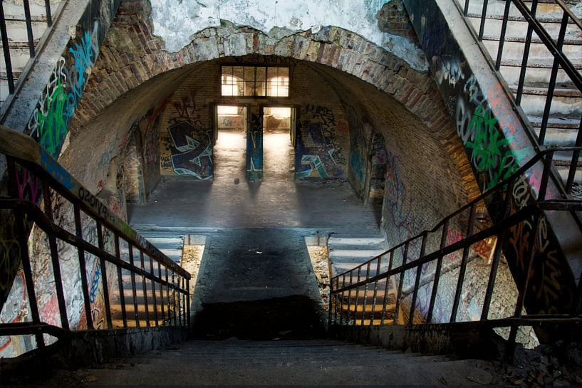 Urban fort chartreuse van Patricia Mallens