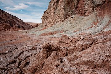 Dor Landschaft, in der Nähe von Caspana, San Pedro de Atacama, Chile von Tjeerd Kruse