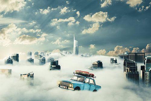 hoog in de wolken sur Michel Swijgman