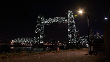 De Hef Rotterdam bei Nacht von Customvince | Vincent Arnoldussen