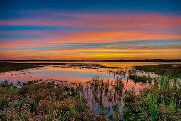 coucher du soleil sur Reint van Wijk