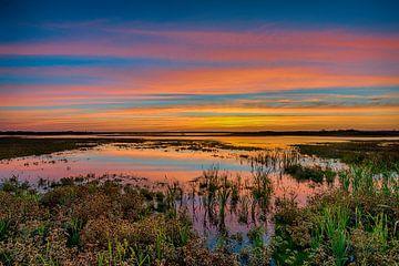 Sonnenuntergang von Reint van Wijk