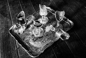 gebroken glazen van