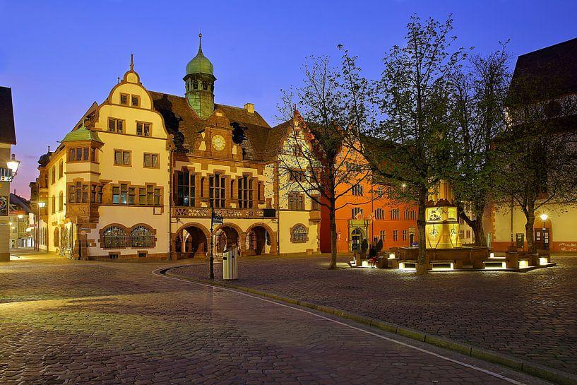 Rathausplatz Freiburg von Patrick Lohmüller