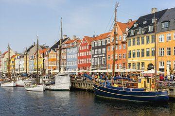 Kleurrijk Kopenhagen von Eddo Kloosterman