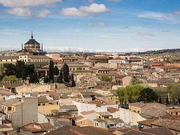 Luftaufnahme der Stadt Toledo von Katrin May