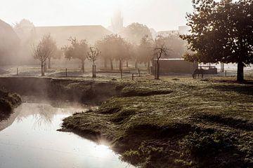 Nebel @ Wassermühle Wijlre von Rob Boon