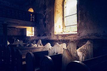 De Spook kerk in Tsjechië