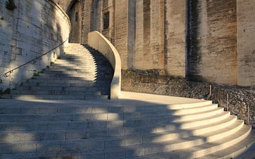 Magistrale trap van kerkgebouw van Harrie Beuken