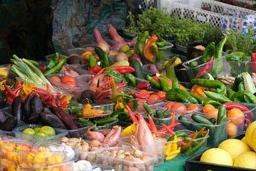 Légumes pour la cuisine des Caraïbes sur Spijks PhotoGraphics