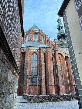 St. Peter's Kerk Riga van Till van Zwamen