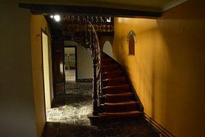 Stairs to the secondfloor  von Dennis Brok