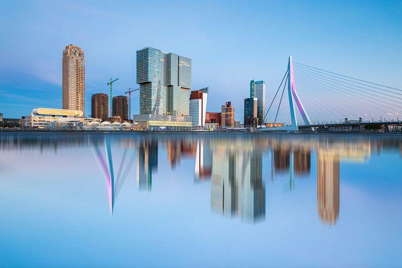 Rotterdam Skyline van Steven Dijkshoorn