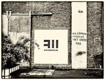 Rotterdamer Mauer von Annelies Martinot