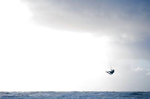 kite-surfer jump