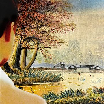Sonniger Spaziergang von Ruben van Gogh