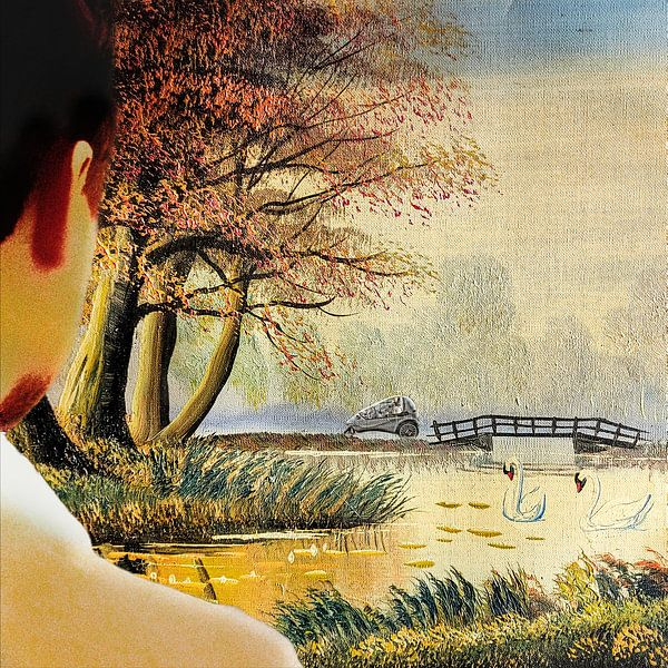 Sunny walk van Ruben van Gogh