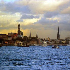 Réputée pour ses nombreux ports, le charme de la ville d'Hambourg pour une décoration murale de qualité et personnalisée.