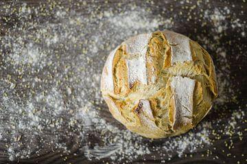 Vers gebakken witbrood van Dennis  Georgiev