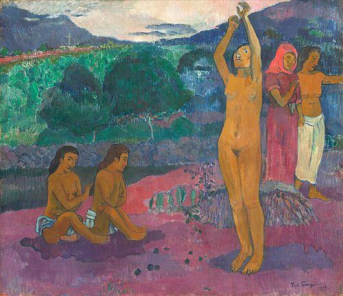 De aanroeping, Paul Gauguin