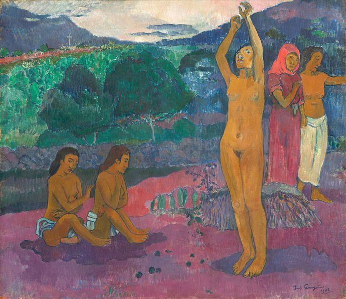 De aanroeping, Paul Gauguin van Liszt Collection