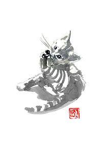 schwitzende Katze von philippe imbert