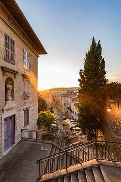 Vieille ville de Nice sur la Côte d'Azur sur Werner Dieterich