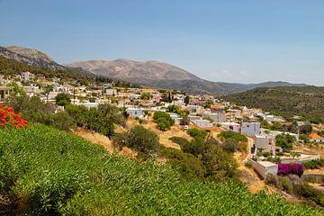 Monolithos op het Griekse eiland Rhodos van Reiner Conrad