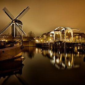 Molen de Put Leiden van Michael van der Burg