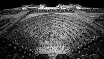 Cathédrale Notre Dame von Jacco van der Zwan