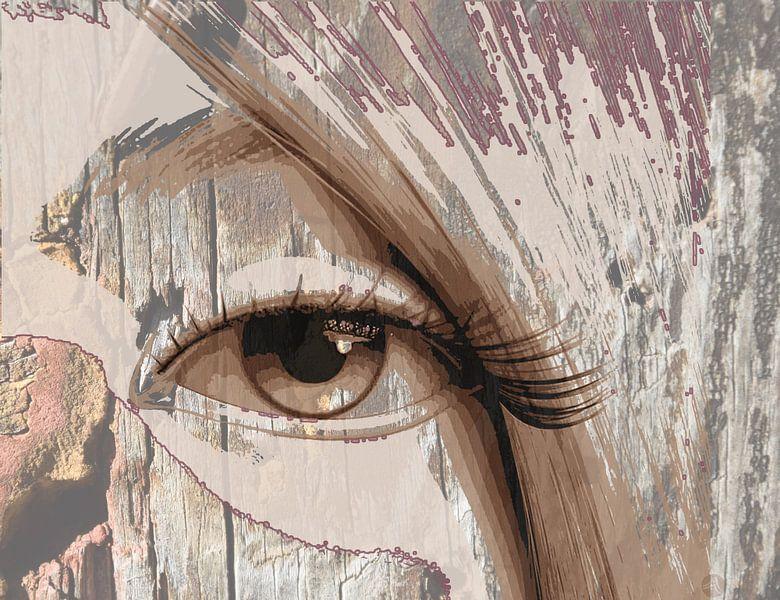 Tapferes Auge von Marijke Mulder