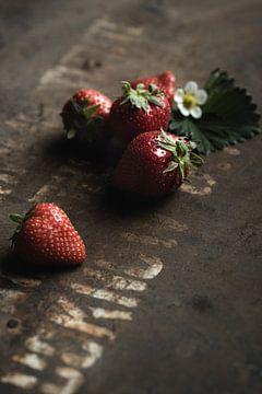 Aardbeien van Anoeska van Slegtenhorst