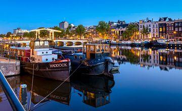 Amstel en Magere Brug, Amsterdam van Adelheid Smitt