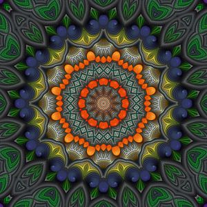 Mandala warmte van