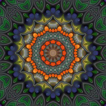 Mandala chaleur sur Marion Tenbergen