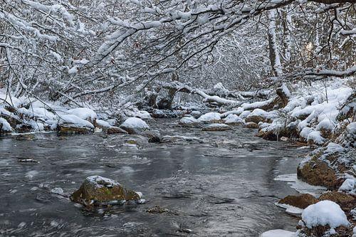 Getzbach met sneeuw